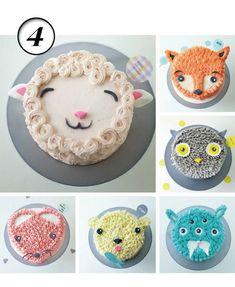 Animal Farm iced cakes