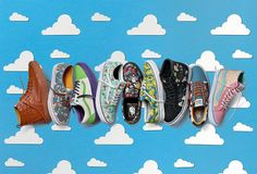 """Vans Officially Unveils Its """"Toy Story"""" Collaboration."""