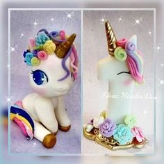 """16 Me gusta, 1 comentarios - Sonia Mendes (@biscuitsoniamendes) en Instagram: """"Desejo uma sexta bem colorida e mto alegre pra vocês  #unicornio #unicorn #unicornparty…"""""""