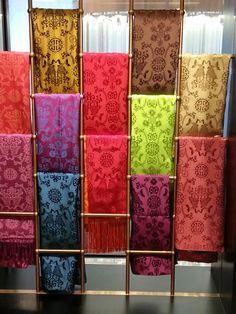 Silk scarves Shanghai Tang
