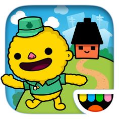 #AppyReview by Angie Gorz @AppyMall Toca Town will provide your child with hours of fun, open ended play! The app includes  21 Toca characters, 6 locations, including the park, police station, restaurant, house and apartment. Kids will have a blast, with free play, as they explore different environments, opening and closing doors, turning lights on and off, putting characters to bed, feeding characters, wrapping gifts in the grocery