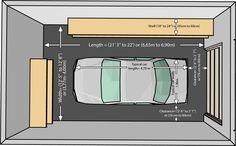garage size for one car. one car garaze, one car garaze measurements