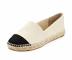 0a50becc6c8451 Tory Burch Espadrille Flat Canvas Shoes Sneakers Lonnie and Beacher (7