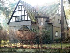 Eine der herrlichen Villen der Gartenstadt Frohnau in Berlin