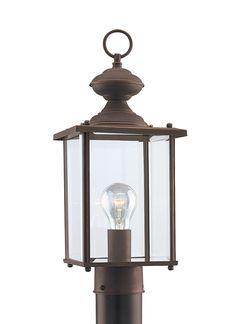 Seagull Lighting - One Light Outdoor Post Lantern