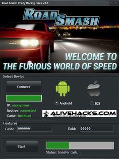 road smash crazy racing hack
