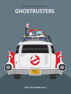 GHOSTBUSTERS - Caça Fantasmas - ECTO 1