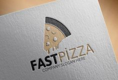 Fast Pizza Logo by josuf on Creative Market