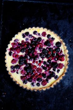 Summer Berry & Yogurt Tart with Aran Goyoaga and Nadia Dole! #fortheloveofpie  HG | forty-sixth at grace