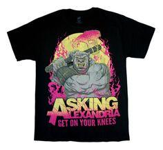 ASKING-ALEXANDRIA-Ogre-T-SHIRT-S-M-L-XL-2XL-Brand-New-Official-T-Shirt