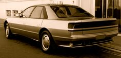 IAD Royale, 1989. A concept for a luxury saloon based on an extended Subaru XT 6 Alcyone platform using that cars horizontally opposed six cylinder engine and all-wheel drive.