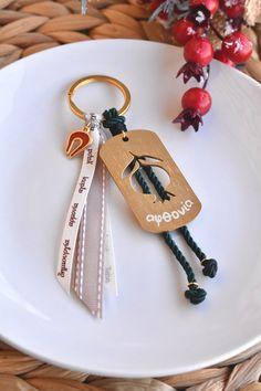 Γουρι - μπρελοκ με μεταλλικο μοτιφ & σμαλτο Personalized Items