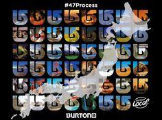 47 PROCESSステッカー、全国の対象ディーラーで限定配布! #バートン #スノーボード #burton #burtonsnowboards