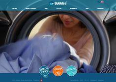 Bubbles design mosoda responsive website
