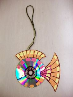 Recycled CD ART - Google Search