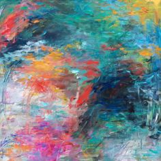 Abstract Art by KELLIE MORLEY | GARDEN SOIREE