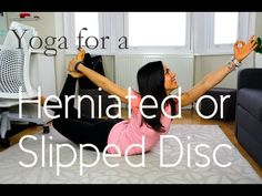 Yoga for a Slipped or Herniated Disc   Yoga with Celest Pereira