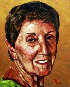 Portrait 1508H - Morris Painting 16x20 Oil on Panel