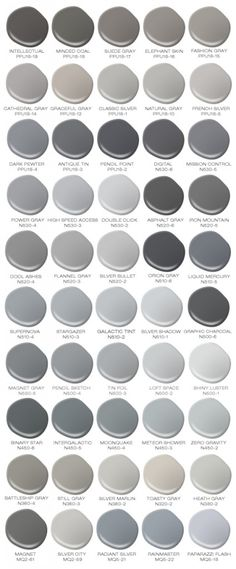 Colorfully, BEHR :: Behr's 50 Shades of Grey