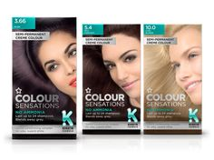 Superdrug Hair Colourants on Packaging of the World - Creative Package Design Gallery