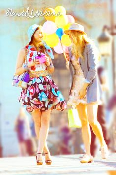 Gossip Girl - Blair & Serena in Paris Summer