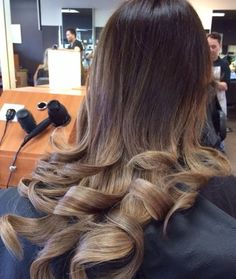 Ash brown and beige blond ombré | Yelp