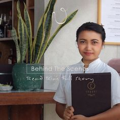"""""""A few things I love about Bisma Eight is the uniqueness of its design the crafty homemade drinks from the restaurant Copper Kitchen & Bar (@copperubud) and of course I very much enjoy interacting with guests. I treat all feedback seriously to always improve the hotel and its services.""""  Meet Ria our Service Crew. . Read her full story: http://ift.tt/1TBEi40 . . . . . #bismaeight #luxury #boutiquehotel #ubud #bali #bismaeightfamily #beapartofourstory #bestnewhotel #hotelcrew #ighotel #hotel…"""
