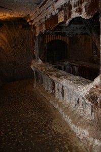 inside a salt mine - Turda Saline