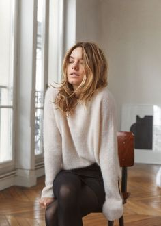 "French ""it"" girl brand, Sezane, has launched a new collection today and (surprise, surprise) it's selling out fast. The new looks for fall and winter are based on timeless classics that will last you year after year. As usual, the pieces are styled to capture all things sexy, Parisian chic. Below, explore the new collection …"