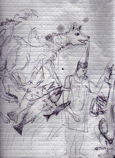 LUIS DESENHA: De cães e de peixes...