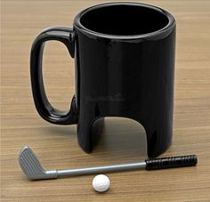 One of the ways to make morning coffee more interesting is to have a unique coffee mug.If you think the same, look below and choose your favorite coffee cup of Top Dreamer's 20 creative and unique coffee mugs. Creative Coffee, Unique Coffee Mugs, Golf Gifts For Men, Fun Gifts, Mens Golf, Ceramic Coffee Cups, Coffe Cups, Cool Mugs, Cool Inventions