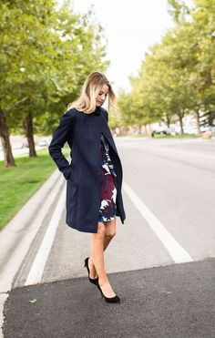 Navy and Bordeaux | Ivory Lane | Bloglovin