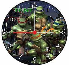 Teenage Mutant Ninja Turtles Wall Decor Clock 2 | eBay