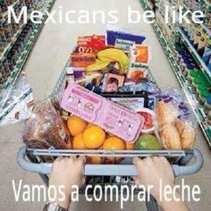 Mexicans Be Like #9486 - Mexican Problems.  I do this all the time!  so true happens when i go with my mom !!lol