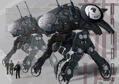 SG Mech     #illustration #conceptart #art #digitalart #fun #mech #vehicledesign #singaporemech #robot