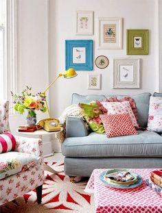 cath kidston style living room