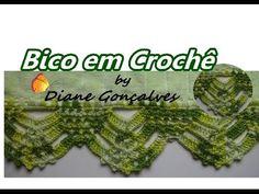 Aprenda a fazer Bico em Crochê com a artesã  Diane Gonçalves