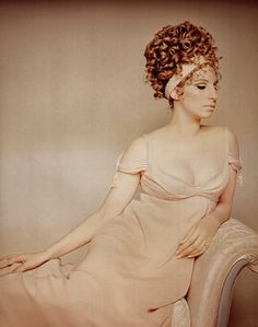 Barbra Streisand Designed By Cecil Beaton for On a Clear Day