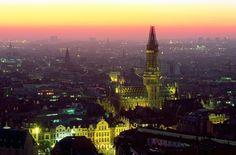 Stock Photo : Cityscape of Brussels , Belgium