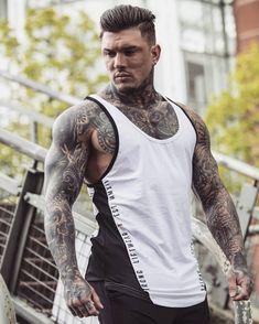 Boy Tattoos, Badass Tattoos, Tatoos, Men Fashion Photo, Mens Fashion, Special Tattoos, Sexy Men, Hot Men, Hipster Man