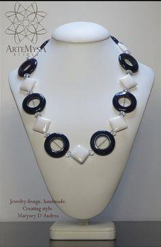 Sailor Style Necklace CLL8 por Artemysa en Etsy