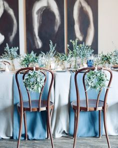 The Table Setup - Alison and Markus's Intimate Rainy-Day California Wedding