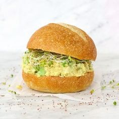 BBQ Tofu Burger | VegAnnie Vegan Keto Recipes, Vegan Gluten Free, Vegan Vegetarian, Healthy Recipes, Vegan Meals, Vegan Egg, Vegan Foods, Healthy Meals, Healthy Eating