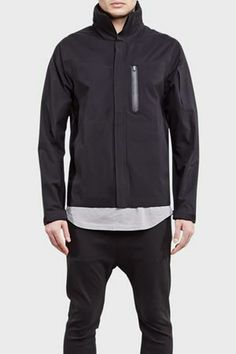 ISAORA Wetworker Tech 3L Field Jacket Black