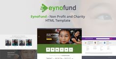 nice EynoFund - Nonprofit and Charity HTML Template (Charity)