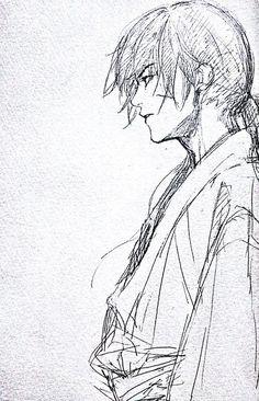 Media Tweets by ハルタ はにわ (@ZutunashiDocomo)   Twitter Reference Manga, Art Reference Poses, Drawing Reference, Kenshin Anime, Rurouni Kenshin, Manga Art, Manga Anime, Anime Art, Kenshin Le Vagabond