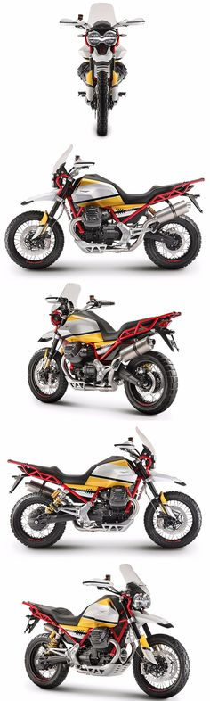 Italian manufacturer, Moto Guzzi has confirmed the launch of its adventure touring motorcycle in January Bmw Vintage, Gypsy Wagon, Touring Bike, Moto Guzzi, Royal Enfield, Cool Bikes, Pilots, Ducati, Cars And Motorcycles