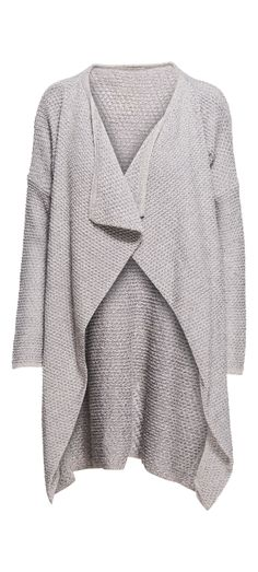 Faith Apparel Knitted Long Cardigan in Grey / Manage Products / Catalog / Magento Admin