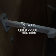The best ways to Child or Baby proof your house. 5 key things to think about and do to protect your little ones. #babyproofing