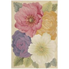 $251.99 Hand-Tufted Tropical Multi Rug